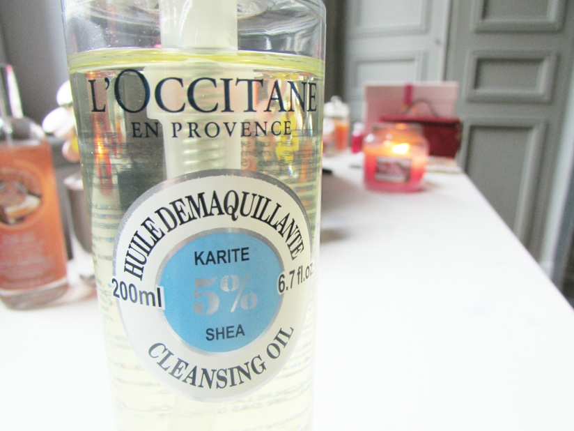 Revue #1 | L'huile démaquillante L'Occitane